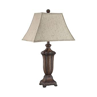 Dark brown maddox table lamp stein world