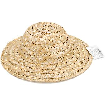 Round Top Straw Hat 9