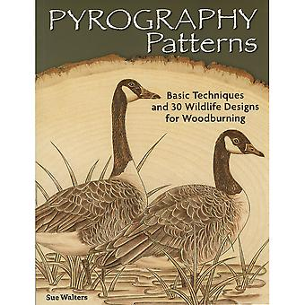 Design Originals Pyrography Patterns Fox 23819
