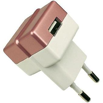 USB charger Mains socket HN Power HNP05-ECO-RED-C Max. output current 1000 mA 1 x USB