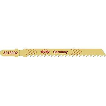 Jigsaw blades RUKO 3228002 Hardwood, softwood, plywood and fibre board up to 60 mm,
