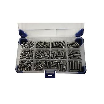 510Pc cône Point Grub vis M4 M5 M6 (mixé Pack) inox douille vis / vis de Grub