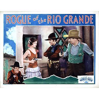Rogue Of The Rio Grande From Left Myrna Loy Jose Bohr Walter Miller 1930 Movie Poster Masterprint