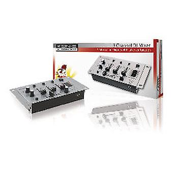 Koenig 3-Channel Mixing Table Dj (Heim , Elektronische , Media-Player)