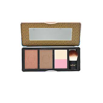 Technic Bronzed Radiance Bronzing Palette with 2 Bronzers & Duo Highlighter