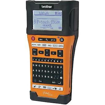 Label printer Brother P-TOUCH E550WVP Suitable for scrolls: TZe, HSe 3.5 mm, 6 mm, 9 mm, 12 mm, 18 mm, 24 mm