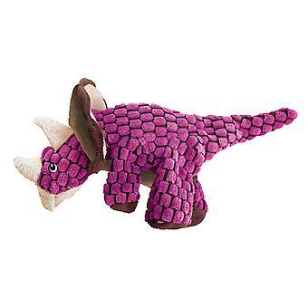 Kong Dynos Triceratops rosa stor