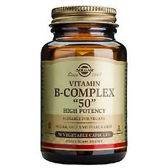 Solgar B-Complex  50  - 50 Vegetable Capsules