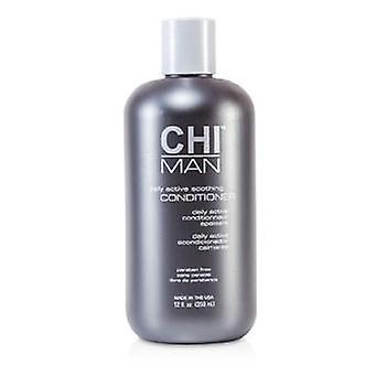 Chi Man Daily Active Soothing Conditioner - 350ml/12oz