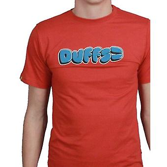 Duffs Jungen T-Shirt - Bubble rot