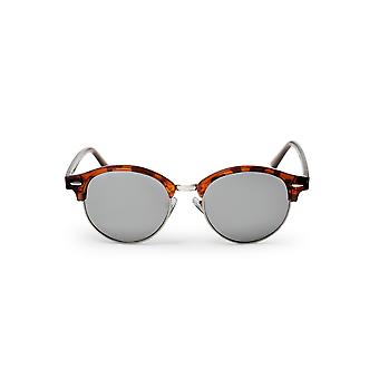 Cheapo Jesper II Sunglasses - Turtle Brown / Silver Mirror