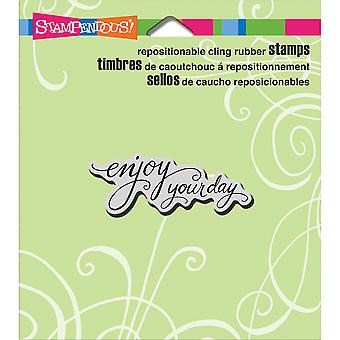 Cling Stampendous Stamp 4.75