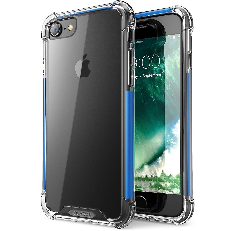 i-Blason- Apple iPhone 7 Case,Shockproof Case-Blue