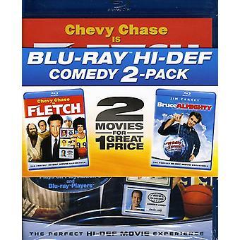 Fletch/Bruce Almighty [Blu-ray] USA import