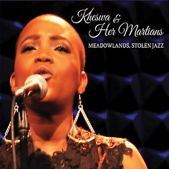 Kheswa & Her Martians - Meadowlands Stolen Jazz [CD] USA import