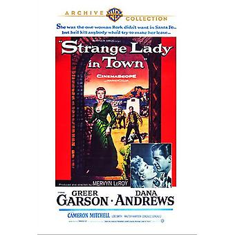 Strange Lady in Town [DVD] USA import