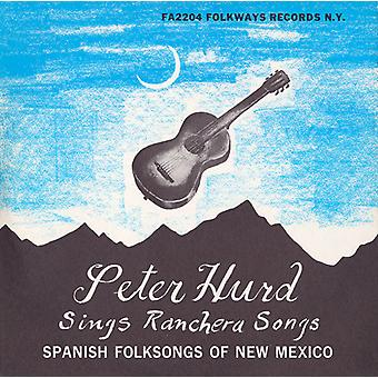 Peter Hurd - spanska folkvisor i New Mexico [CD] USA import