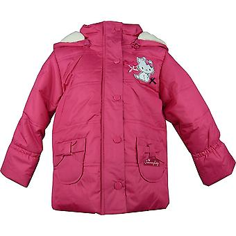 Girls Charmmy Kitty Winter Hooded Puffer Jacket