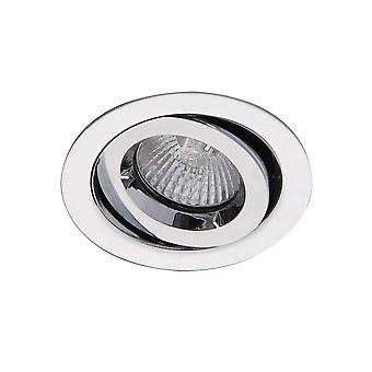Ansell ICage Mini Adjustable Downlight 50W GU10 Chrome