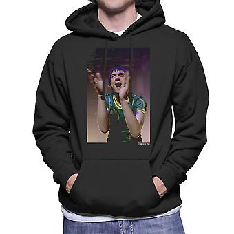 Kasabian Tom Meighan Live Men's Hooded Sweatshirt