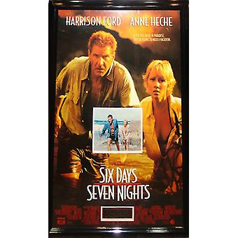 Six Days Seven Nights  - Signed Movie Poster