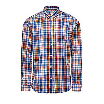Jack and Jones One Dek Warren Blue Casual Shirt