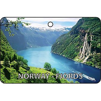 Norway - Fjords Car Air Freshener