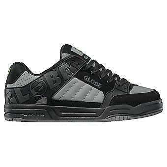 Globe Tilt Shoes - Black / Grey UK 8