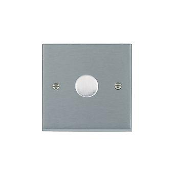 Hamilton Litestat Cheriton Victorian Satin Chrome 1g 200VA 2 Way Dimmer SC