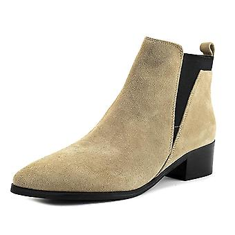 Marc Fisher Ignite Women Pointed Toe Suede Nude Bootie