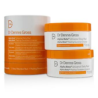 Dr. Dennis brutto Alpha Beta Universal daglige Peel - krukke - 30 behandlinger
