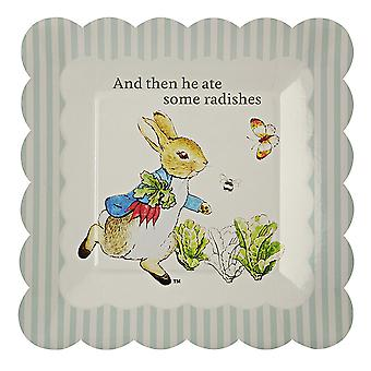 Pack of 12 Peter Rabbit & Friends Small Party Plates