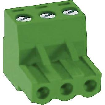 Socket enclosure - cable MC Total number of pins 6 DECA 1192092 Contact spacing: 5.08 mm 1 pc(s)