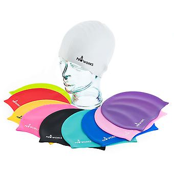 ProWorks Swimming Cap - White