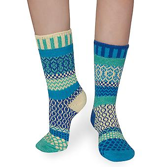 Zephyr recycled cotton multicolour odd-socks | Crafted by Solmate