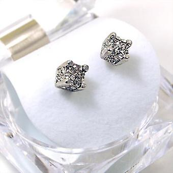 Iced out bling earrings box - CRYSTAL CUBE