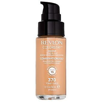 Revlon Colorstay combination/oily skin #370-toast 30 ml (Make-up , Face , Bases)