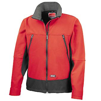 Result Mens Casual Softshell Activity Coat Jacket