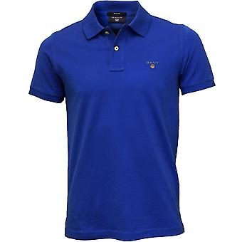 Solido di Gant Polo piquet, Nautical Blue