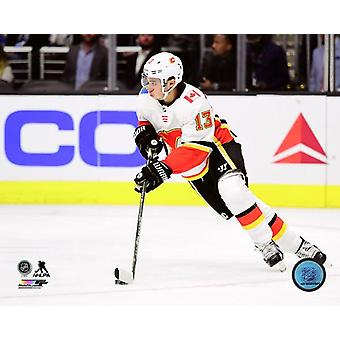 Johnny Gaudreau 2017-18 akcji Photo Print