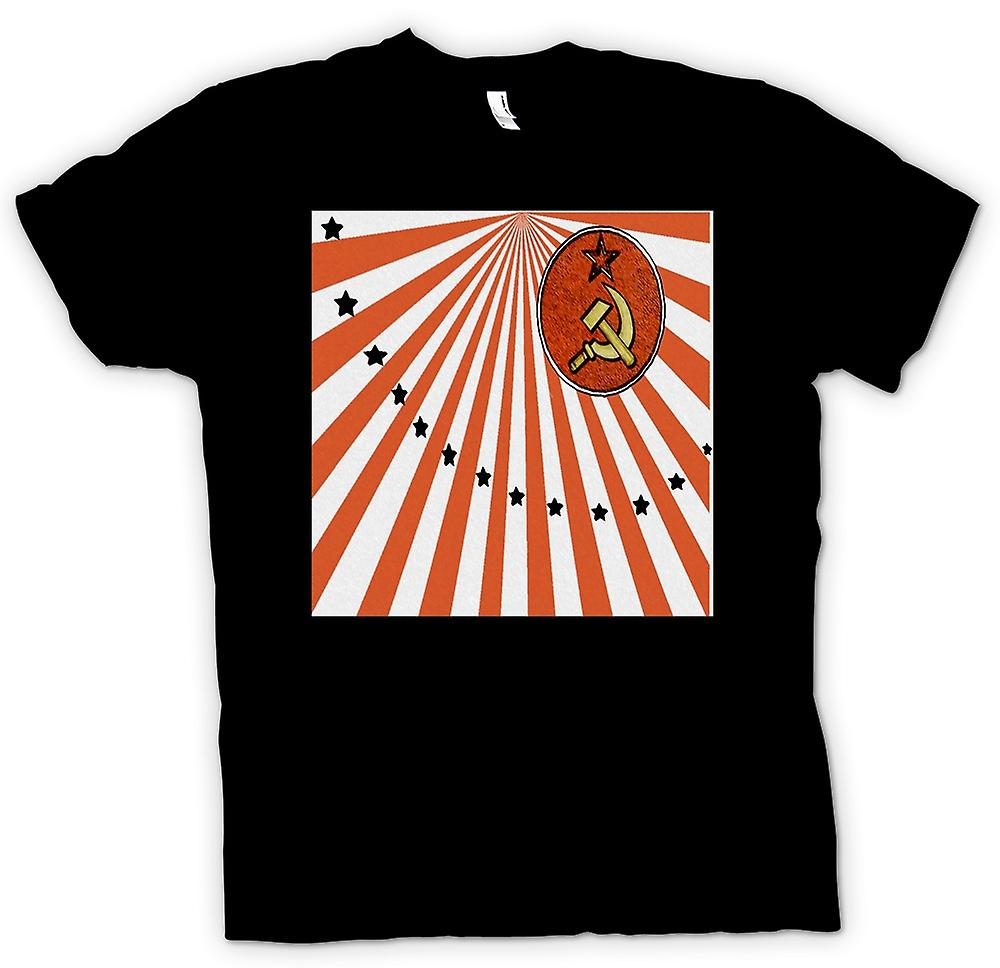 Mens T-shirt - communisme russe - graphisme