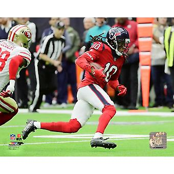 DeAndre Hopkins 2017 Action Photo Print