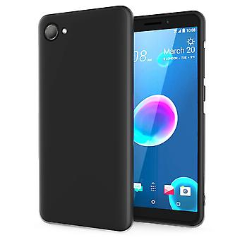 HTC Desire 12 Matte TPU Gel - Solid Black