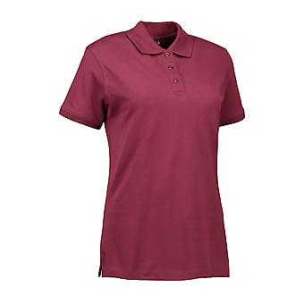 ID Womens/Ladies Stretch Poloshirt
