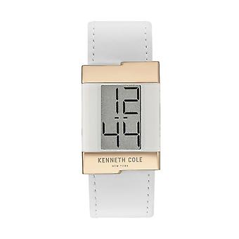Kenneth Cole New York dameshorloge leder van digitaal horloge KCC0168004