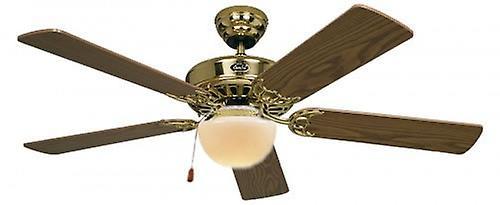 Ventilateur classique ROYAL de plafond 132 cm 52 & 034;laiton poli