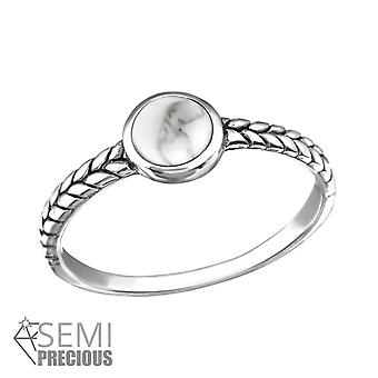 Round - 925 Sterling Silver Cubic Zirconia Rings - W34653X