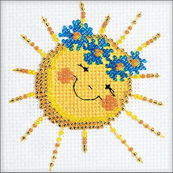 Good Morning Counted Cross Stitch Kit-4