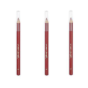 Barry M X 3 Barry M Lip Liner - röd