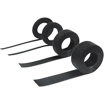 Hook-and-loop tape for bundling Hook and loop pad (L x W) 2500 mm x 7.5 mm